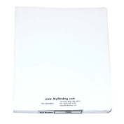 GBC(R) Classic Vertical Covers, White, Pack Of 50
