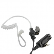 ExpertPower® 2-wire Earpiece and PTT Mic for Icom IC-02AT IC-03AT IC-04AT IC-2GAT IC-2GXAT IC-3GT IC-4008A IC-4088A IC-80AD IC-91A IC-91AD IC-F3 IC-F3S IC-F4 IC-F4S IC-F10 IC-F20 IC-H2 IC-H6 IC-H16 IC-J12 IC-M5 IC-Q7A IC-Q7E IC-T2 IC-T2A IC-T2H IC-T ..