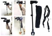 Ardinbir Photo Waist Shoulder Support Stabiliser Hand Free Mount Bracket Tripod for Video DV HandyCam Camcorder DSLR Camera
