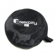 "Etekcity 5 in 1 portable Round Collapsible Multi Disc Photography studio Photo Camera Lightning Reflector/Diffuser Kit camera equipment - 24"" (60cm) when opened. great for photo shoots and taking pictures in accurate lighting"