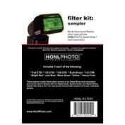 Honl Photo Sampler Colour Correction Gel filter Kit for Photo Speed System