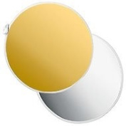 Photoflex Silver/Gold Reversible LiteDisc 110cm Collapsible Reflector