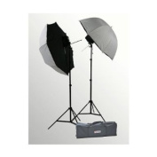 ePhoto Photography Studio Off Camera Flash Umbrella Softbox Brolly Box Light Stand Kit ULSSB35