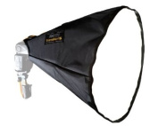 HonlPhoto Traveller 16 Softbox with 41cm Front Diffuser, for Shoe Mount Flash Units.