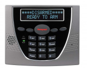 Honeywell 6460S Premium Alpha Keypad, Silver/black 2x16