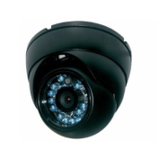 """IC Realtime ICR-200 Indoor/Outdoor Vandal Proof IR Dome Camera, 1/3"""" Sony Super HAD CCD, 600 TV Lines, IP-55 Waterproof Standar, Up to 15m IR, Build-in 3.6mm Fixed Lens, NTSC / PAL TV System, Internal Sync, 0 Lux Min Illumination, Auto 3200~10,000 .."""