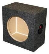 Ground Shaker SQ6.5 17cm Single Square Speaker Box
