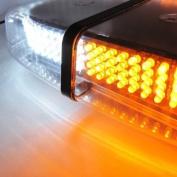Aurnoc New Bright Amber 240-LED Strobe Light Warning Emergency Flashing Car Truck Construction Car Vehicle Safety