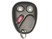 Keyless Entry Remote Fob Clicker for 2006 Chevrolet Trailblazer With Do-It-Yourself Programming
