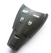 NEW SAAB 9-3 9-5 Replacement Keyless Entry Remote Key Shell Case FOB 4 Button