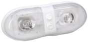 Bargman Lights 34-76-243 76 Series 12V Double Interior Light with Dual Switch