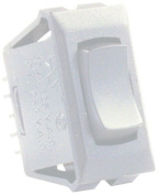 JR Products 12691-5 Momentary On/Off 12V White Switch - Pack of 5