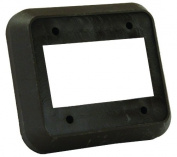 JR Products 13565 Brown Triple Switch Wall Spacer