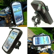 Easy Fit IPX4 Waterproof Motorcycle Bike Handlebar Mount for for for for for for for for for for for Samsung Galaxy S3 SGH-i747 AT & T