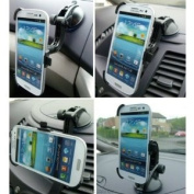 Dedicated Multi Surface Car DashBoard / Window Mount for Galaxy S3 SGH-i747 AT & T