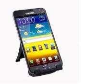 niceEshop(TM) Universal Portable Folding Mobile Phone Stand / holder For Iphone / Ipod / Ipad / Samsung / Motorola / HTC -Black +Free Capacitive Stylus- Black