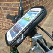 IPX4 Waterproof M8 Sports Motorcycle Handlebar Clamp Mount for Galaxy S3 GT-i9300