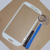 Replacement Screen Front Lens Glass Cover White For for Samsung Galaxy i9300 Siii S3