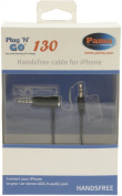 Pama Plug N Go 130 Car AUX 3.5mm Handsfree Cable for iPhone 4 4S 3G 3GS