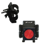 Gomadic Air Vent Clip Based Cradle Holder Car / Auto Mount for the Dual Electronics XGPS150 - Lifetime Warranty