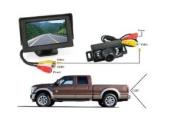 BW® 11cm TFT LCD Monitor Car Reverse Rear View Backup Waterproof IR Colour Camera Kit