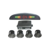 BW® Smart and Small Ultrasonic Reverse Parking Sensor System with Audible Alarm