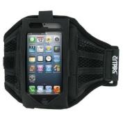EMPIRE Black Adjustable Neoprene Sport Armband for Apple iPhone 5 / 5S