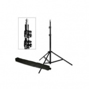 PBL LIGHT STAND PRO HEAVY DUTY 2.1m15cm ALL METAL LOCKING COLLARS WITH CARRY BAG Steve Kaeser Photogrpahic Lighting