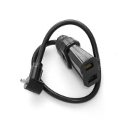 """Wein W990305 (PC-H) PC (Female) to """"H""""-Prong Adapter for Camera"""