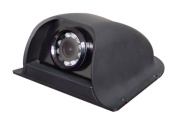 CCD Colour Side View Camera with Night Vision, 120 Degree View, Waterproof, Black. by YanTech USA