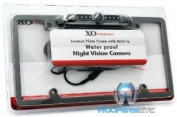LP-136BC Nickel - XO Vision Licence Plate with Built-in Night Vision Camera