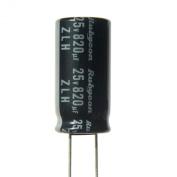 8pcs Rubycon ZLH 820uF 25v 105c Radial Electrolytic Capacitor Low ESR