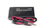 Car Boat RV Radio Stereo FM AM Antenna Signal Booster Amplifier