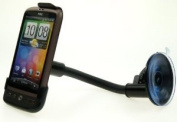 Ultimate Addons Flexible Goose Neck Suction Cup Car Windscreen Holder for HTC Desire Mobile / Smart Phone