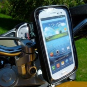 Easy Fit IPX4 Waterproof Motorcycle Bike Handlebar Mount for for for for for for for for for for for Samsung Galaxy S3 GT-i9300 SIII