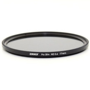 Zykkor 77mm Pro Slim Neutral Density ND4 0.6 ND 4 Optical Glass filter