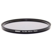 Zykkor 72mm Pro Slim Neutral Density ND4 0.6 ND 4 Optical Glass filter