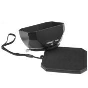 Mennon DV-b 52 52mm Digital Video Camcorder Lens Hood with Thumb Lock Mount, Black