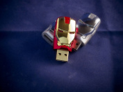 The AVENGERS Ironman Mask USB Flash Drive 8GB
