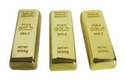 Euroge Tech® 4GB Gold Bar Shape USB Flash Memory Drive