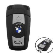 16GB USB Flash Drive BMW Car Key Remote Shape 16G Memory Stick U Disc - Black