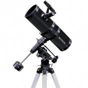 Black TwinStar 11cm Reflector Telescope Fast f/4.4 EQ Mount