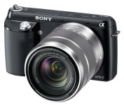 Sony NEX-F3K/B 16.1 MP Compact System Camera with 18-55mm Lens