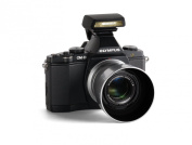 Olympus V204040BU000 Premium Edition Bundle with 45mm f1.8 Lens, Metal Hood, 16MP Compact System Camera with 3-Inch OLED - Body Only