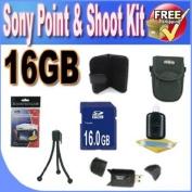 Sony Point & Shoot Accessory Saver Bundle!
