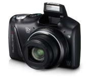 Canon PowerShot SX150 IS 14.1 MP Digital Camera with 12x Wide-Angle Optical Image Stabilised Zoom with 7.6cm LCD