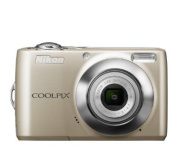 Nikon COOLPIX L24 14 MP Digital Camera with 3.6x NIKKOR Optical Zoom Lens and 7.6cm LCD