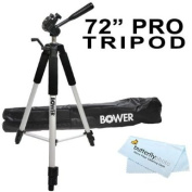 Professional 180cm TRIPOD FOR All Canon Sony, Nikon, for for for for for for for for for for Samsung , Panasonic, Olympus, Kodak, Fuji, Cameras And Camcorders + BP MicroFiber Cleaning Cloth