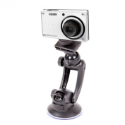 Solid Camera Windscreen Cup Suction Mount For Pentax Optio RS1000 Chameleon, Optio LS1100 & E90