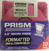 disc 8.9cm DS-HD IMB NEON 10PK